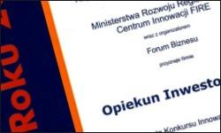 Tytuł Innowacja Roku 2009